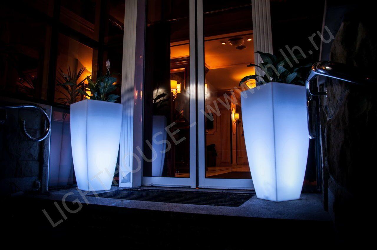 Светящаяся LED-мебель: декоративная 28