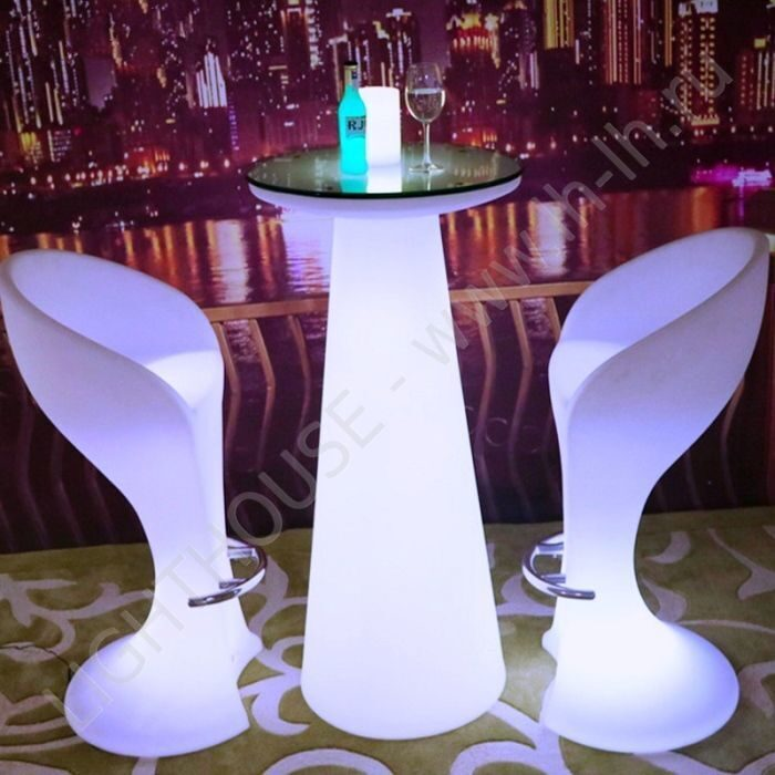 H47-inches-waterproof-Wireless-eat-standing-1light-led-up-colorful-light-cocktail-bar-table-with-remote — копия