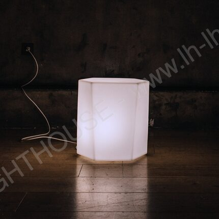 Светящийся LED стул Honeycomb W 220V White