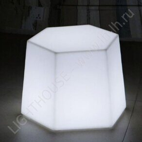 Светящийся LED стул Honeycomb N 220V White